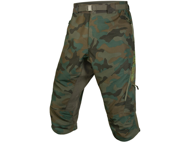 Endura Hummvee II 3/4 Shorts Men, camouflage